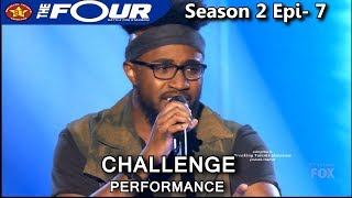 "Jeronelle McGhee sings ""All of Me"" Challenge Performance The Four Season 2 Ep. 7 S2E7"