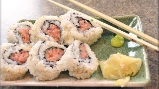 How to make Spicy Tuna Rolls Sushi