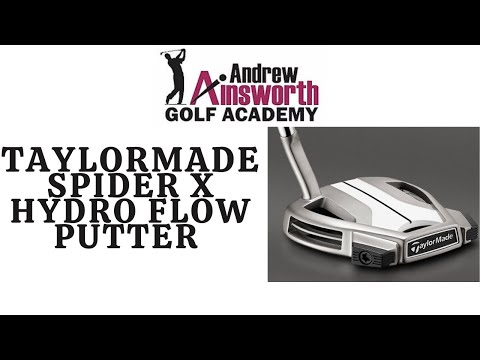 Taylor Made Spider X Hydro Blast Putter review.