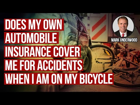 Does my automobile insurance cover Texas bicycle accidents?