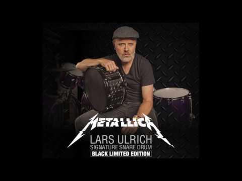 Lars Ulrich's Limited Edition Tama Kit in Deeper Purple