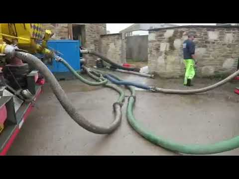 Tankers ferrying waste from Cornwall pumping station