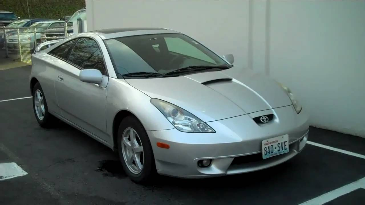 2000 toyota celica gt youtube. Black Bedroom Furniture Sets. Home Design Ideas