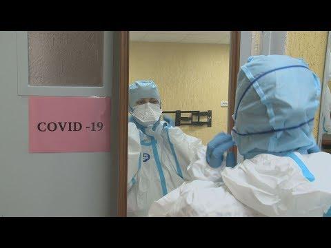 Дополнительные койки для пациентов с COVID-19 организованы в новоуренгойском ПНД