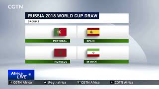 Tunisia & Morocco find themselves in tough groups
