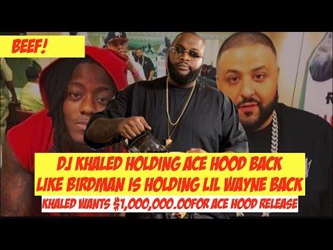 Dj Khaled Treating Ace Hood like Birdman Treats Lil Wayne. Rick Ross Needs To Talk to Khaled  JTNEWS