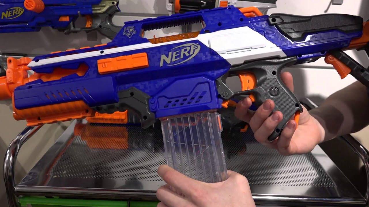 NERF N Strike Elite XD Rapidstrike cs 18 unboxing and review