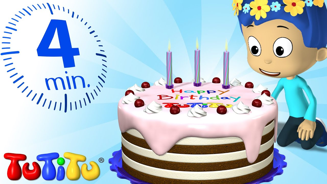 TuTiTu Specials Happy Birthday Cake Toys And Songs For - Cake happy birthday song