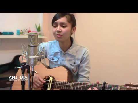 Cewek Thailand bawain lagu terbaru ANJI - DIA
