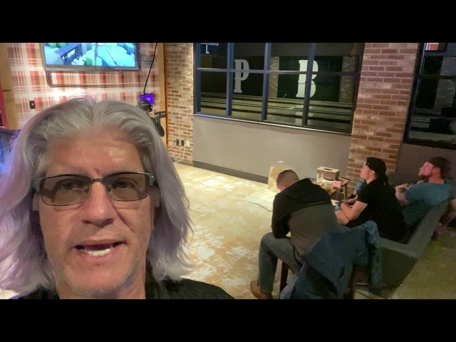 Bob talks VR at Punch Bowl Social in Denver