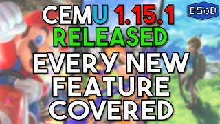 Cemu 1.15.1 Released | New Year, New Awesome Emulator Upgrades [Patreon Release]