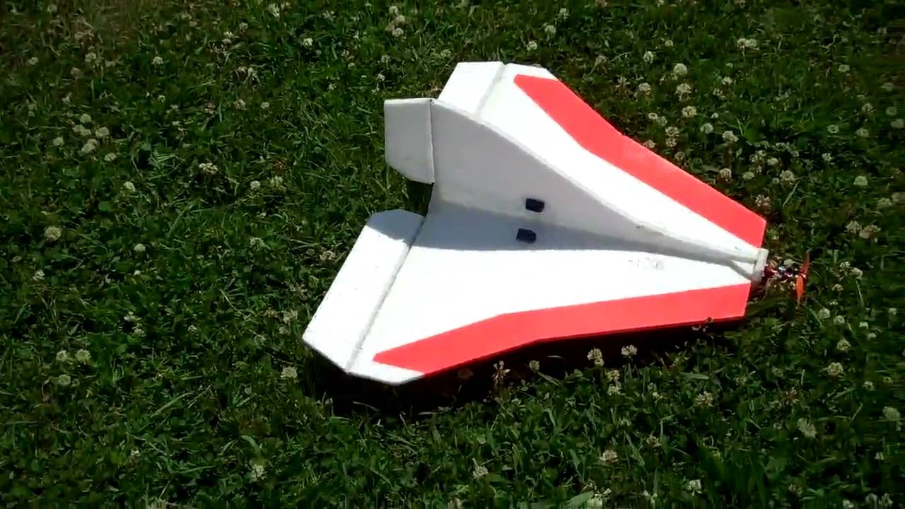 24 inch Simple Delta scratchbuilt from RC Groups