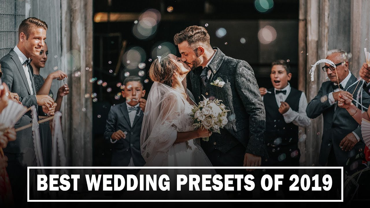 BEST WEDDING CAMERA RAW PRESETS OF 2019 - FREE D