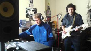 Stevie holiday dub - live mix - live mutron biphase guitar - Bakery studio