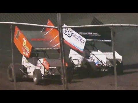 360 Sprints  MAIN EVENT  7-27-19 Petaluma Speedway