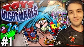 PLANTS VS ZOMBIES ALE NIE DO KOŃCA... - Toys vs Nightmares #1