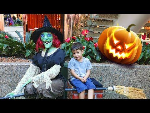 Visitamos a Exposição MonsterVille Halloween 👻