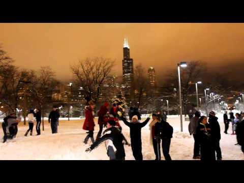 UIC TKE Snowball Fight - University of Illinois at Chicago