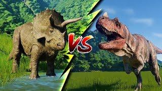 NEW DINOSAUR IN THE HOUSE! (fight ensuses) | Jurassic World Evolution #2