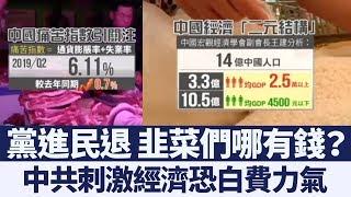 結構性問題不解決 中國經濟怎麼救?|新唐人亞太電視|20190902