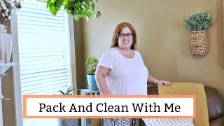 Pack and Clean With Me Before a Trip