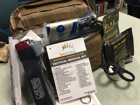 SOFREP Monthly Crate Club Medical Kit: Made by Wild Hedgehog Tactical, Bag by Tactical Tailor