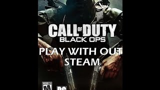 how to play Call of Duty Black OPS  without Steam