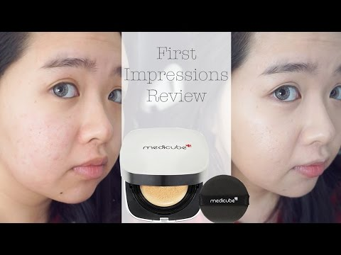Medicube Red Cushion First Impressions Review Youtube