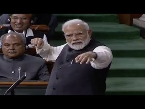FULL SPEECH : PM Narendra Modi Speech In Parliament 2019..Motion Of Thanks..Rahul Gandhi..