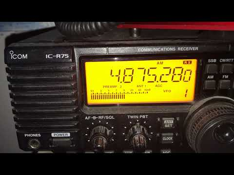 Radio Difusora Roraima 4875 kHz, Boa Vista, Brazil, clearest reception at home to-date