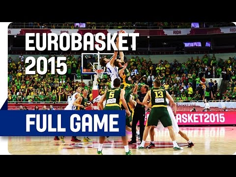 Czech Republic v Lithuania - Group D - Full Game - Eurobasket 2015
