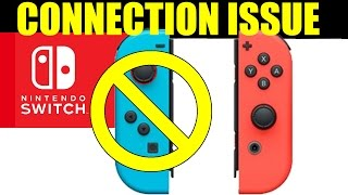 NINTENDO SWITCH GLITCHES: Left Joy Con De-Sync And FAILS To Connect