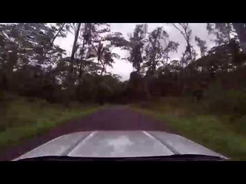 Hawaii - Driving Big Island - Puna District - Route 137