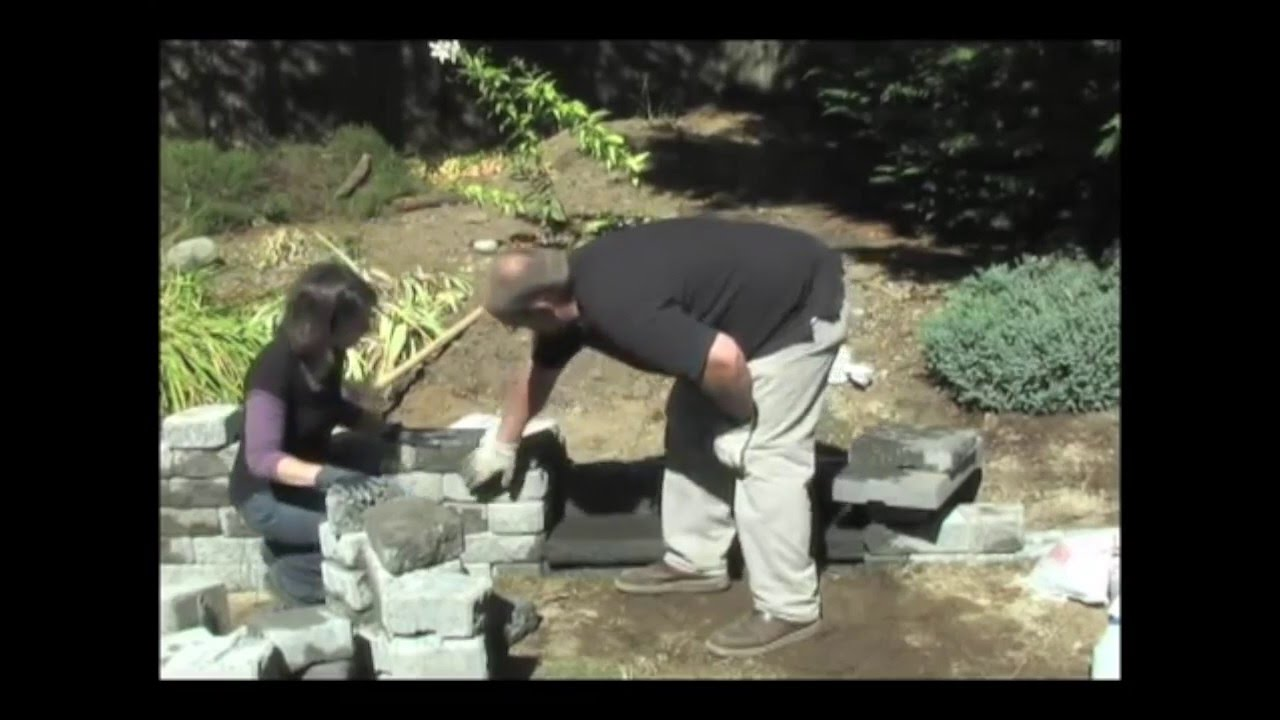 How To Build Stairs Into A Retaining Wall