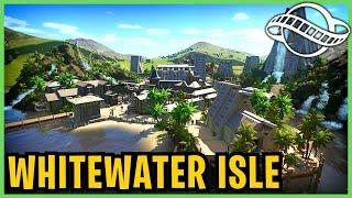 Whitewater Isle! Planet Coaster: Park Spotlight 206