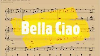 Bella Ciao Spartito Gratis Per Pianoforte Youtube