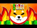 SHIBA INU COIN HOLDERS: 0.01$ PRICE WILL HAPPEN!? - SHIB 1 CENT Price Prediction