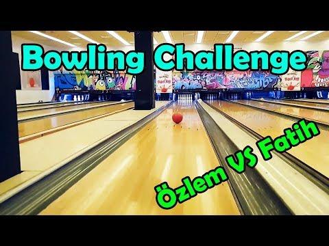Özlem vs Fatih Bowling Challenge at Atlantis AVM | vlog
