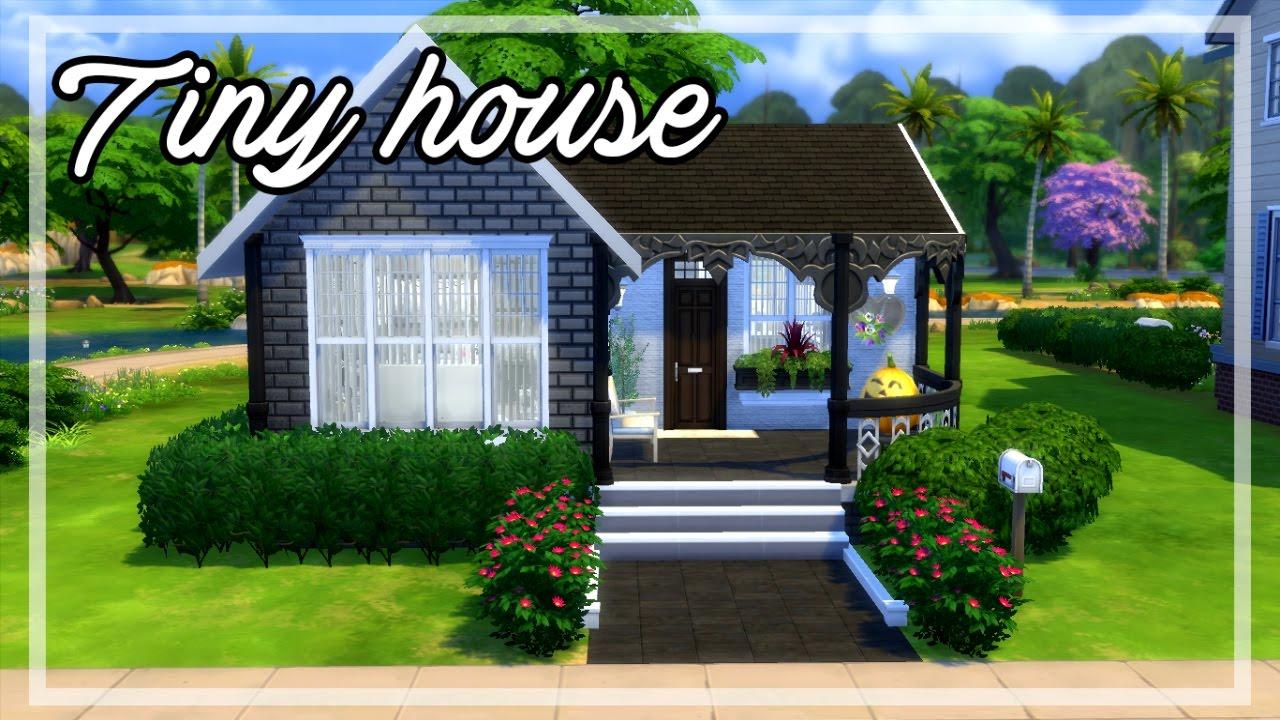 The Sims 4 House Build Tiny House Youtube