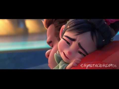 Ralph Says Goodbye To Vanellope Wreck It Ralph 2 Youtube