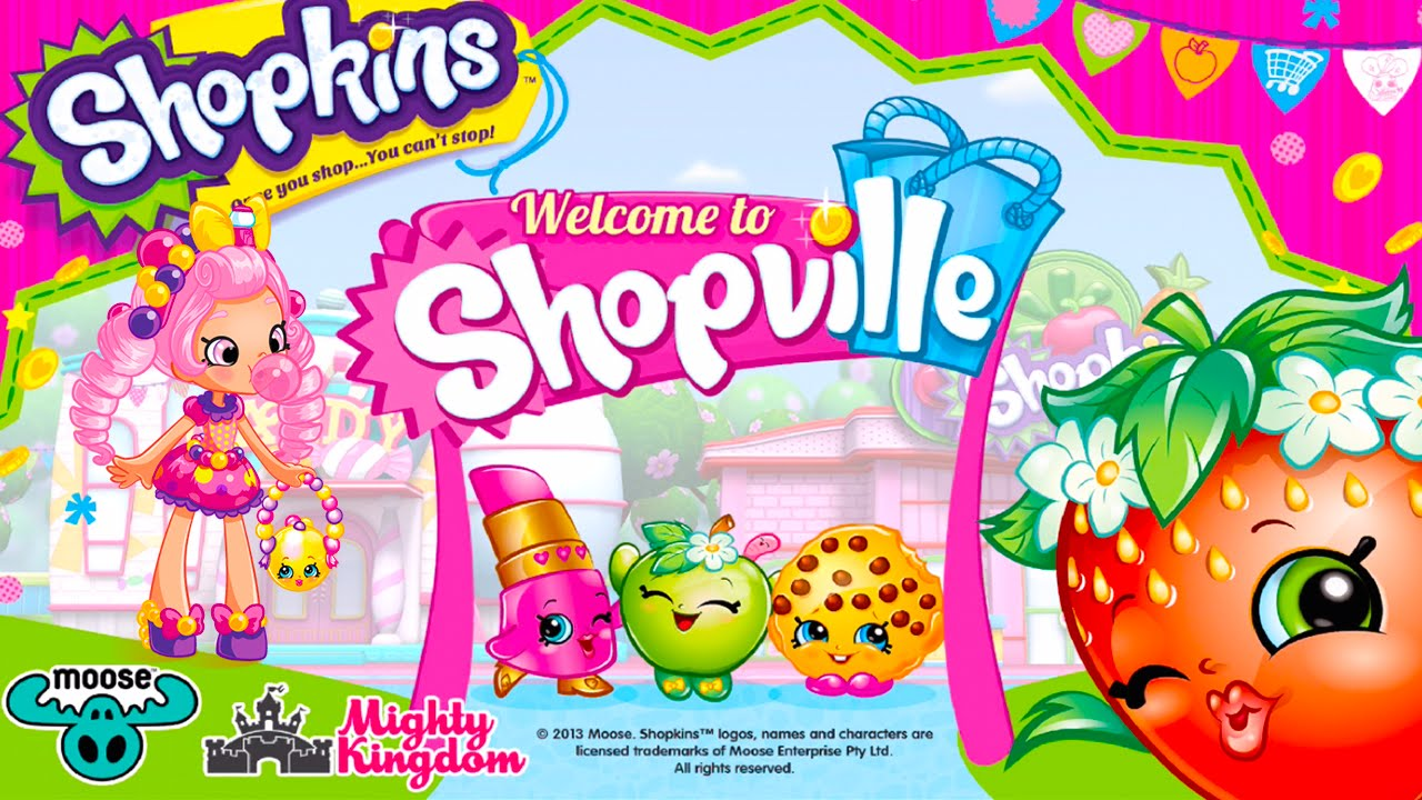 Shopkins Welcome To Shopville App Game Cupcake Baking