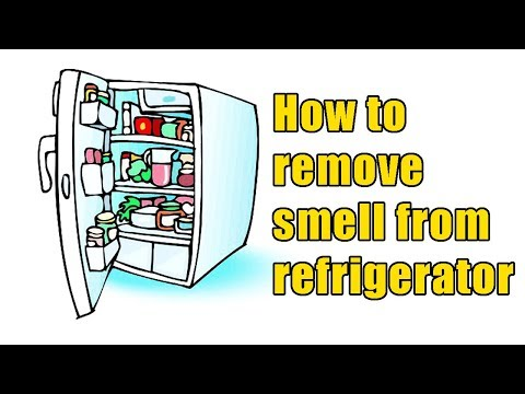 How to remove smell from refrigerator