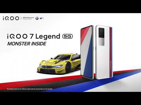 iQOO 7 Legend | Reveal