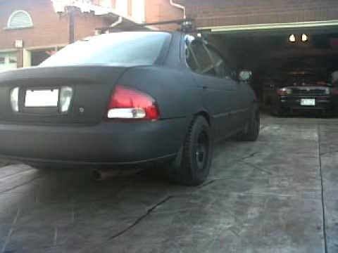 Flat Black Sentra Walk Around Youtube