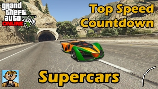 Fastest Supercars (2017) - GTA 5 Best Fully Upgraded Cars Top Speed Countdown