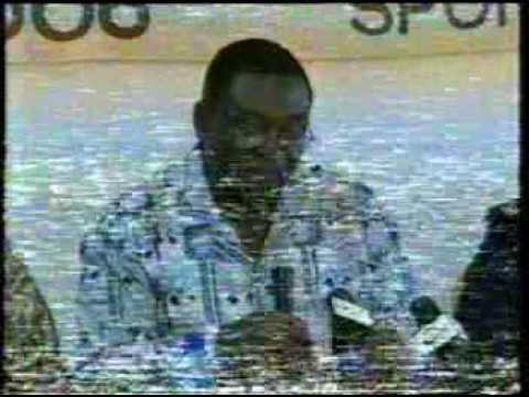 Fred à la télé Ghanéenne