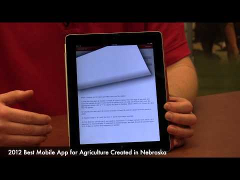 2012 Best Mobile Ag App Created in Nebraska