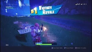 Fortnite win solo first game of the day