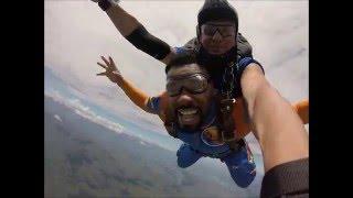 SKYDIVE - Salto Duplo Paraquedas Alexis Andrade Monteiro (Cabo Verdiano) em Resende - RJ