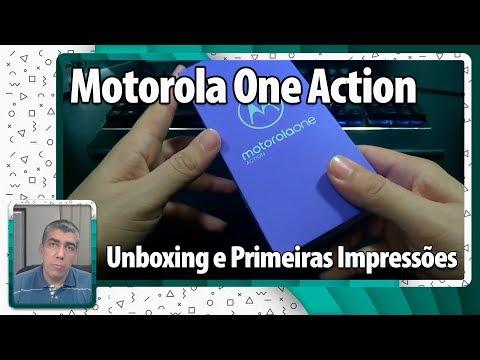 Motorola One Action - Unboxing e Primeiras Impressões